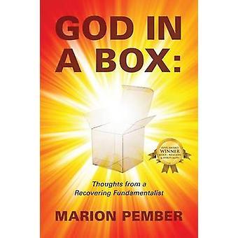 Dieu dans une boîte de pensées d'un fondamentaliste récupération par Pember & Marion