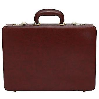 קו דק מזוודה עור-מארז לעסק תיק מנהלים