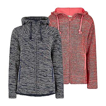 Weird Fish Ladies Abelia Full Zip Fleece