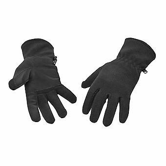 Portwest - Fleece Glove Black Regular