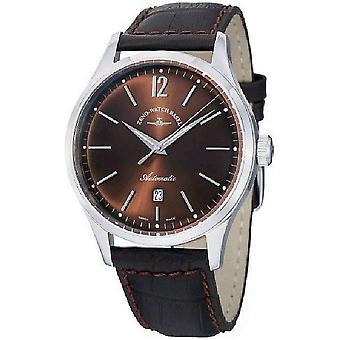 Zeno-watch reloj de evento caballero automático 43 marrón 6564-2824-i6