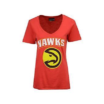 Atlanta Hawks NBA 4her Mesh Logo Tee