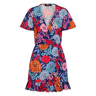 Girls On Film Womens/Ladies Ford Mock Wrap Dress