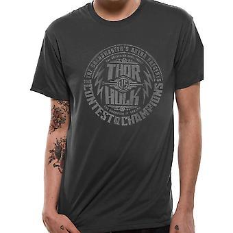 Marvel Thor Ragnarok concours affiche design T-shirt pour homme