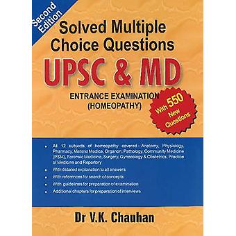 Solved Multiple Choice Questions UPSC & M.D. - Entrance Examination (H