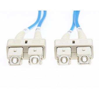 3M SC SC Om1 câble fibre optique multimode bleu