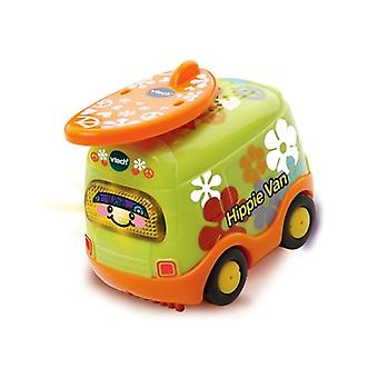 Vtech Toys Toot-Toot Drivers Hippie Van Car Toy with Surfboard Including Lights