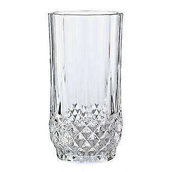 PK di 6 Longchamp Diamax tagliare il vetro cristallo Hiball Tumbler impostare 28cl