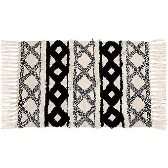 Sass & Belle Scandi Boho Cotton Rug