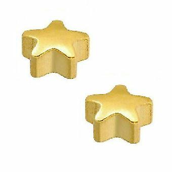 Caflon 24CT Gold Plated - Star Stud (1 Pair)