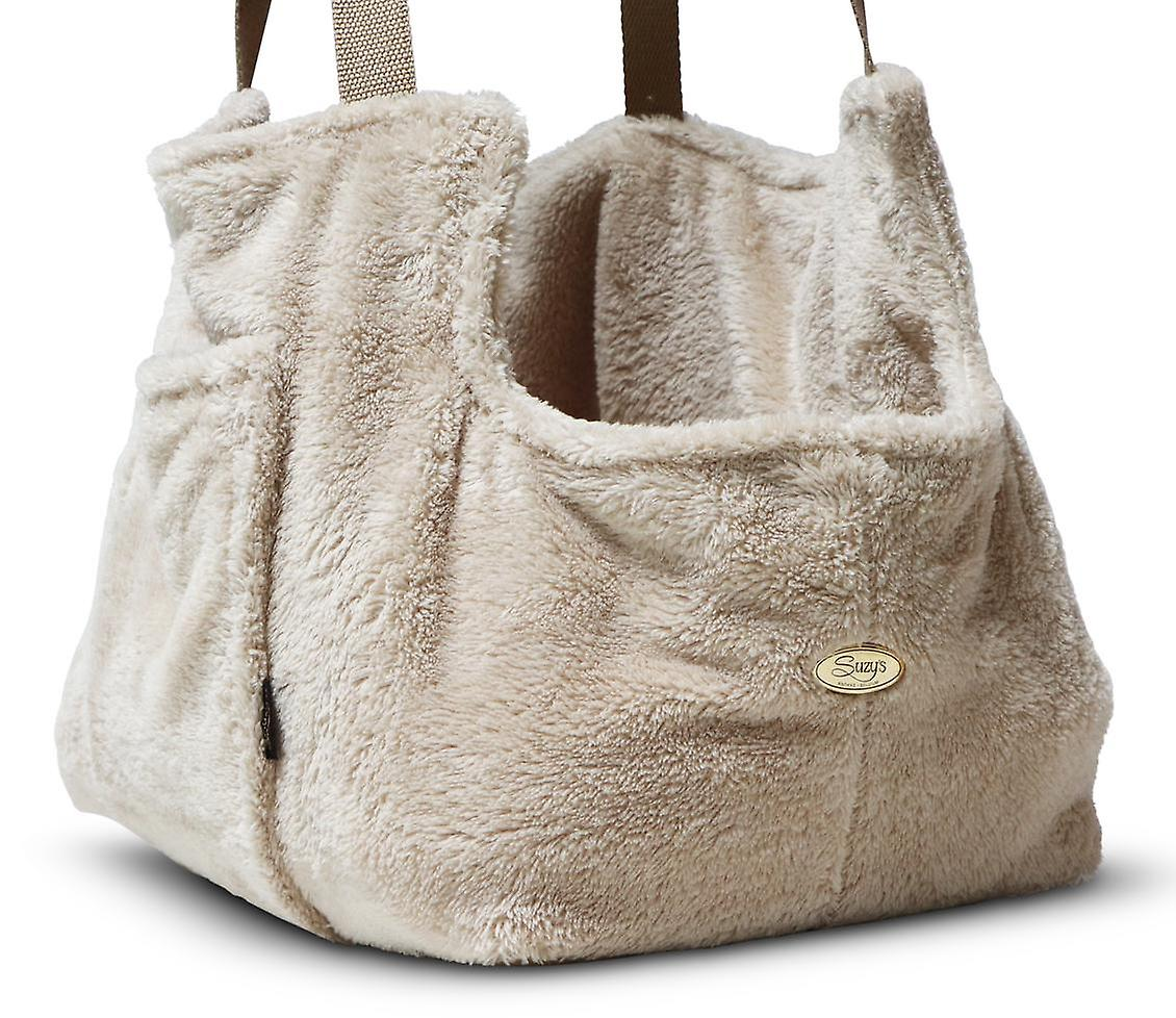 Teddy Bear Office and travel Beige Dog Carrier