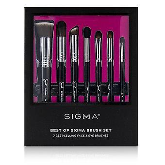 Sigma Beauty bästa av Sigma borsta Set - 7st
