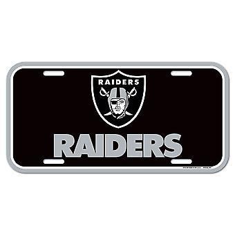Wincraft NFL Kennzeichenschild - Oakland Raiders