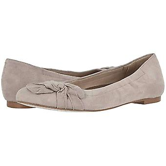 Walking Cradles Womens Brielle Leather Round Toe Espadrille Flats