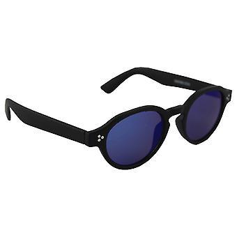 Sunglasses Women's Oval - Black/Blauw2533_3