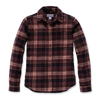 Carhartt Women's Long Sleeve Shirt Hamilton Flannel Shirt
