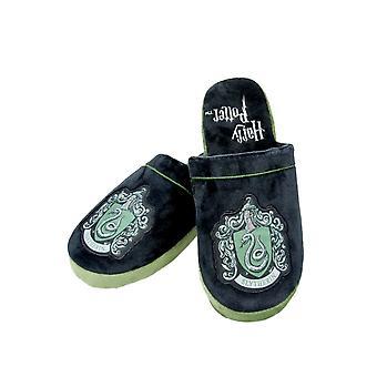 Mens Harry Potter Slytherin Mule Slippers Large UK 8-10 Official Licensed Merchandise