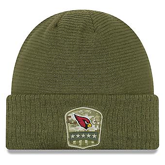 New Era Salute to Service Wintermütze - Arizona Cardinals