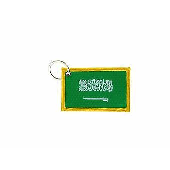 Cle Cles Key Brode Parche Ecusson Insignia Bandera Arabia Saudita