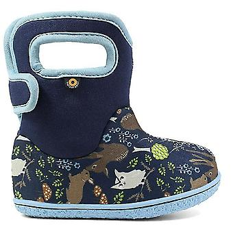 Baby Bogs Girls Woodland Boots Blue