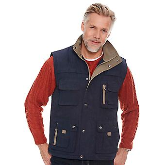 Aldon Mens Gilet Fleece Lined