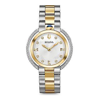Bulova 98r246 kvinder ' s Rubaiyat Diamond Collection wristwatch