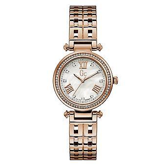 Gc Y47003L1MF Primechic Rose Gold Tone Wristwatch