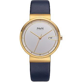 M & M Germany M11953-732 Date Women's Watch