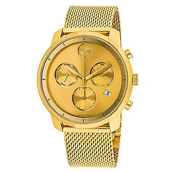 Movado Men's Bold Gold Dial Watch - 3600372
