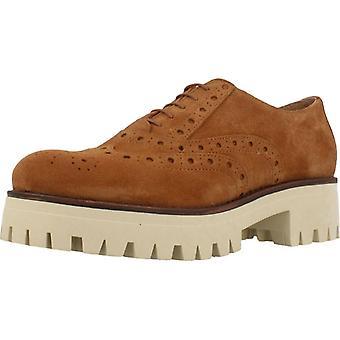 Gele schoenen casual Gala kleur Muscade