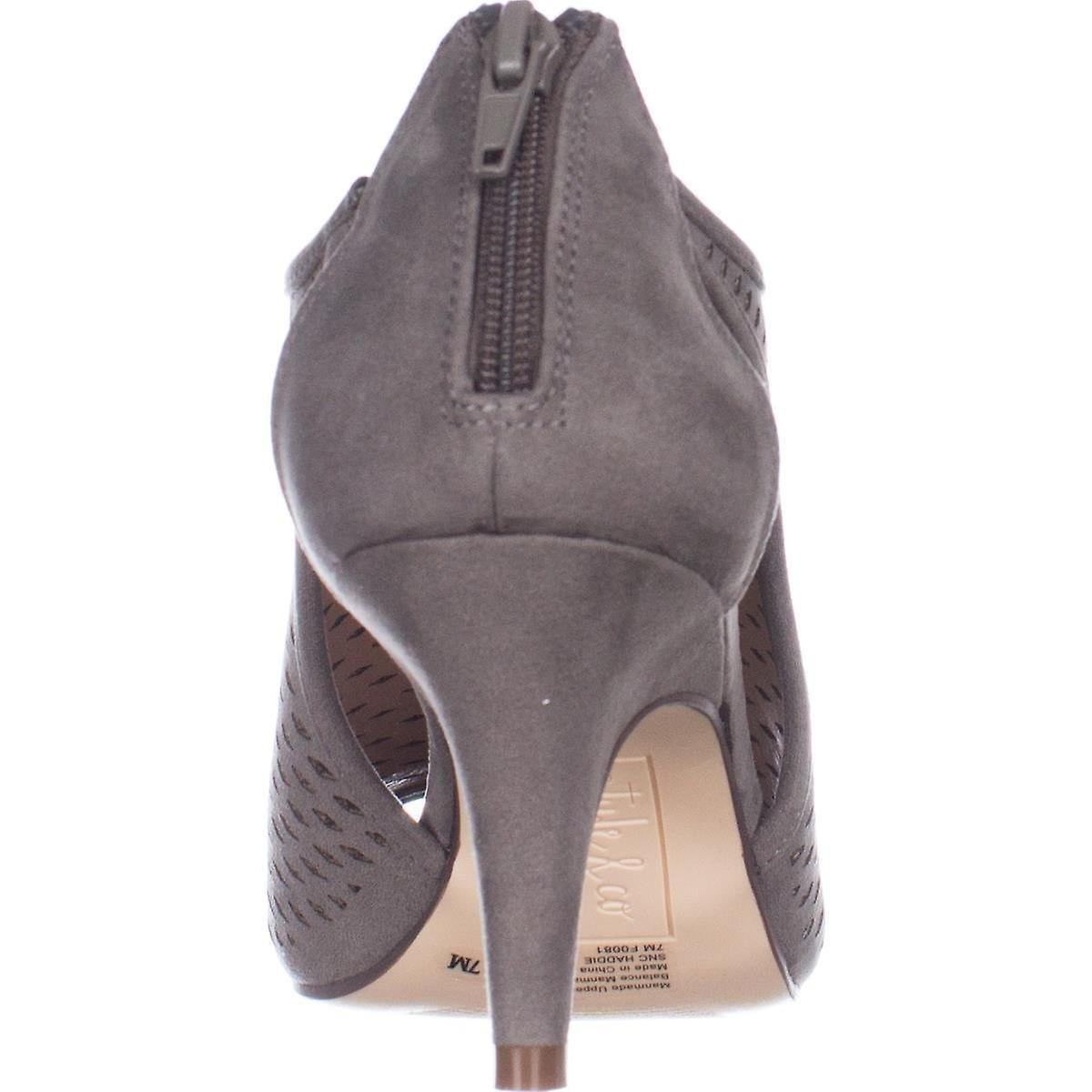 Haddie damskie stylu Co. idealna tkanina Open Toe specjalnych okazji Mule sandały 0wxTm