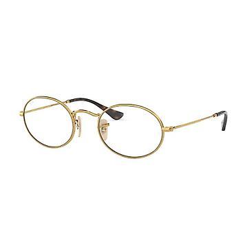 Ray-Ban RB3547V 2500 Gold Glasses
