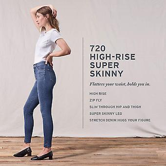 Levi ' s kvinnor ' s 720 hög upphov super skinny jeans, Indigo, Indigo Atlas, storlek 32