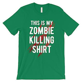 Zombie Killing Mens Green Enjoyable Tough Perfect T-Shirt Gag Gift