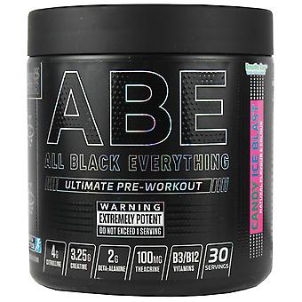 Applied Nutrition All Black Everything Pre-Workout Candy Ice Blast 315g