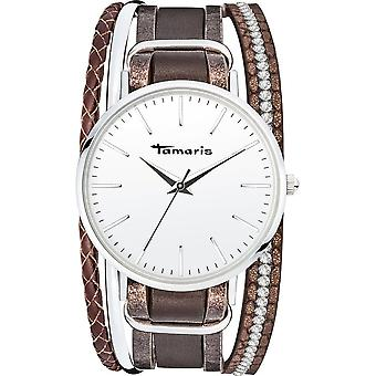 Tamaris-armbandsur-Women-TW109-silver, Brown