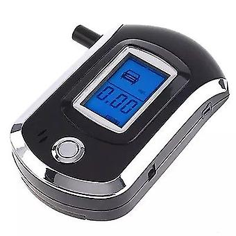 Alcohol Breath-Analyser Breathalyzer LCD Digital Tester con 5 Mouthmouth