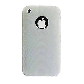För iPhone 3-fodral, Transparent silikon slitstark skärmskydd av högsta kvalitet