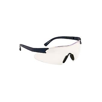 Portwest curvo workwear safety glasses spectacles pw17