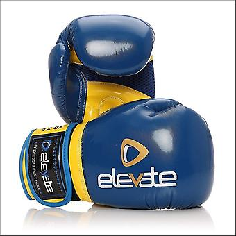 Elevate airtec boxing gloves - blue yellow