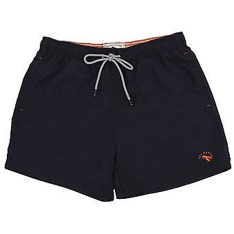 Ted Baker Ripley Plain Swim Shorts - Dark Navy
