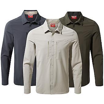 Craghoppers Mens NL Pro långärmad skjorta