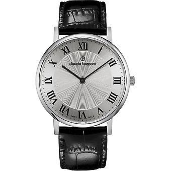 Claude Bernard - Wristwatch - Unisex - Slim Line 41 MM - 20219 3 AR