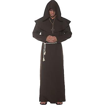 Monk Robe Adult Brown
