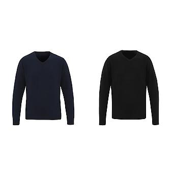 Premier Mens Essential Acrylic V-Neck Sweater