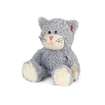 Warmies Plush Cat Niebieski Posiedzenie
