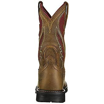 ARIAT Men-apos;s Rigtek Venttek Rye Western Work Boot Composite Toe - 10027333