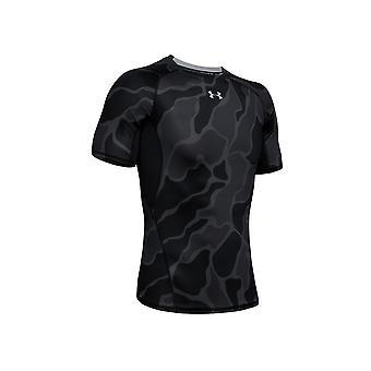 アンダーアーマーヒートギアプリント1345722002ユニバーサルサマーメンTシャツ