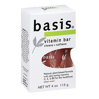 Basis vitamin bar soap, 4 oz