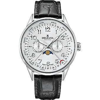 Delbana - Wristwatch - Men - Retro Moonphase - 41601.646.6.064